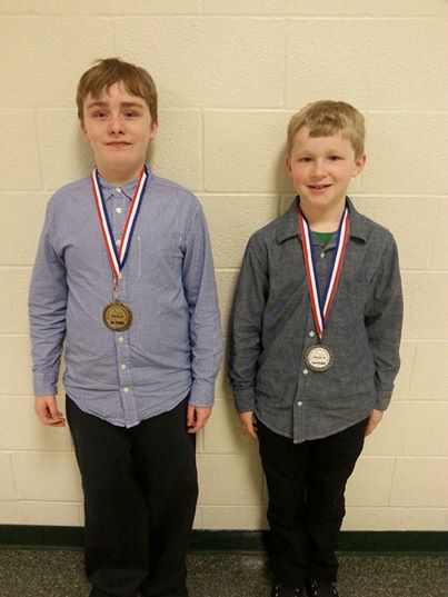 Social Studies Fair Winners!